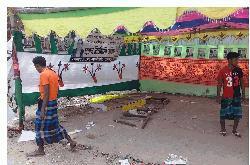 কেশবপুরে কাউন্সিলর প্রার্থীর কার্যালয়  ভাঙচুর