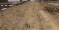 নাফ নদী ঘেঁষে এগিয়ে চলেছে সীমান্ত সড়কের কাজ