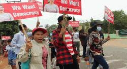 মিয়ানমারে জান্তা বিরোধীদের 'অন্তর্বর্তী সরকার' গঠন