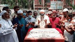 ইসলামপুরে জেজেকেএম গালর্স স্কুল-কলেজ ভবনের ভিত্তি প্রস্তর স্থাপন
