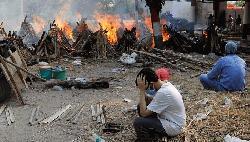 ভারতে করোনায় একদিনে ৪০৭৭ জনের মৃত্যু