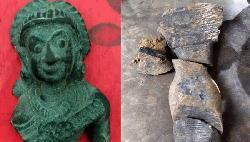 সাপাহারে ১৫ লাখ টাকা মুল্যের প্রাচীন মুর্তি উদ্ধার
