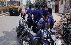 শার্শায় 'জনসচেতনতা বাড়াতে' কঠোর বিধিনিষেধ